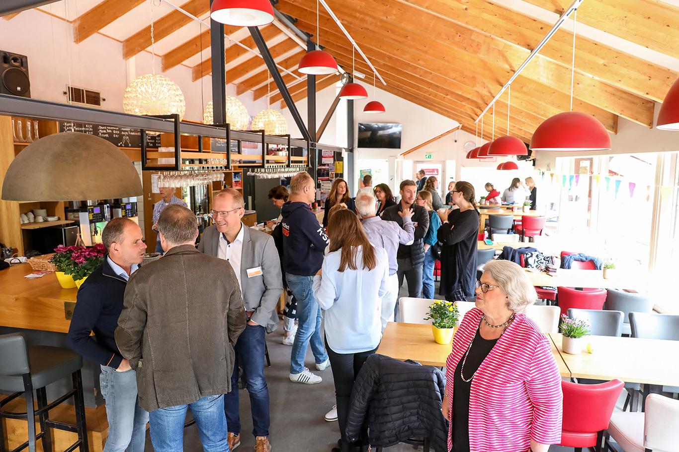 Ontvangst bij ALTA voor onthulling hoofdsponsor Dutch Open