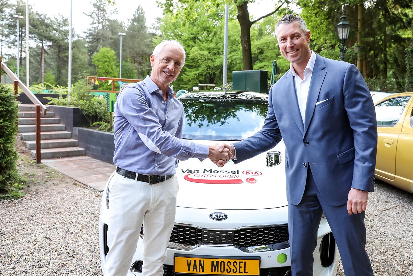 Toernooidirecteur en hoofdsponsor van Van Mossel Kia Dutch Open