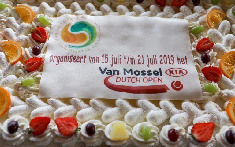 Taart Van Mossel Kia Dutch Opem